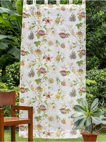 Voile Curtain : Serafina Country