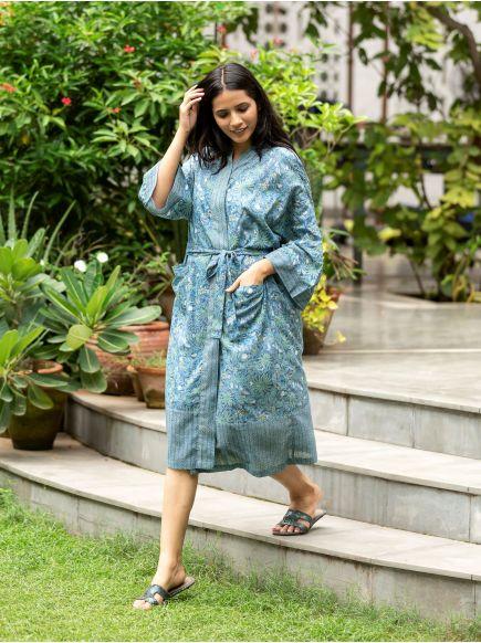 Kimono : Palm Denim