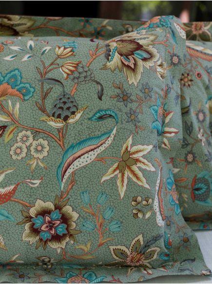 Pillow Cover Reversible : Kerala Thyme