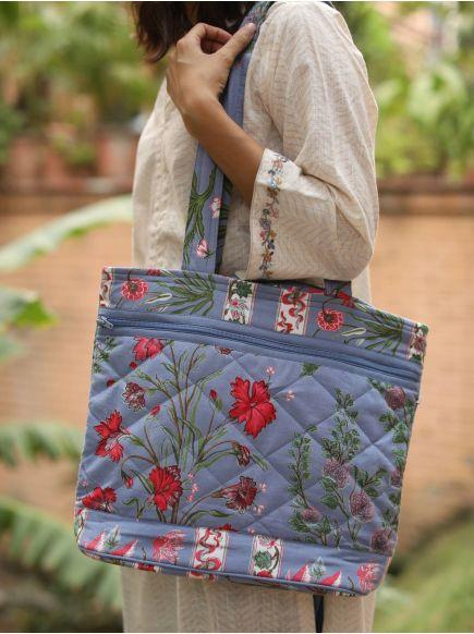 Megda Bag : Garden Azure
