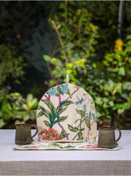 Tea Cozy Set of 2 : Corsica Country