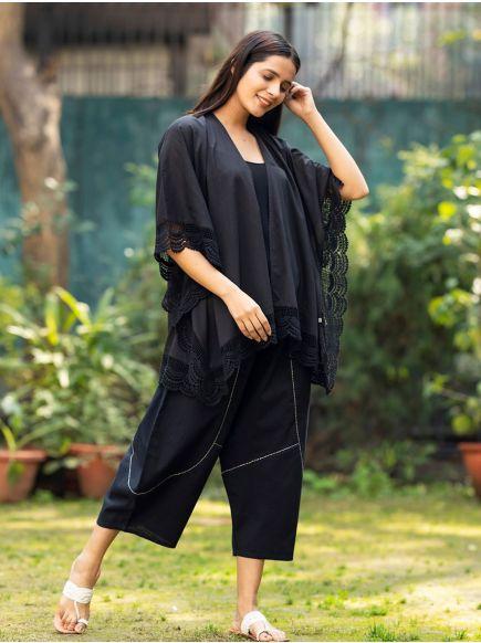 Bali Kimono : Black