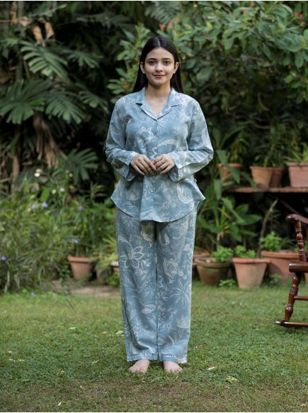 Vanessa Pj Set : Kerala Grey