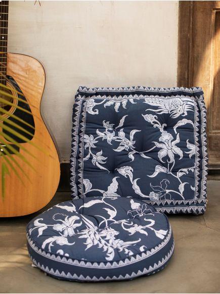 Floor Cushion : Pheonix Denim