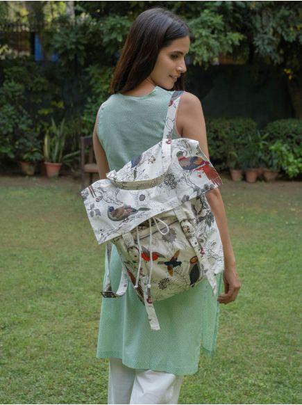 Picnic Bag : Bird Black & White