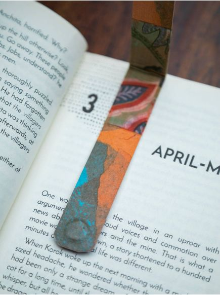 Magnetic Book Mark : Assorted