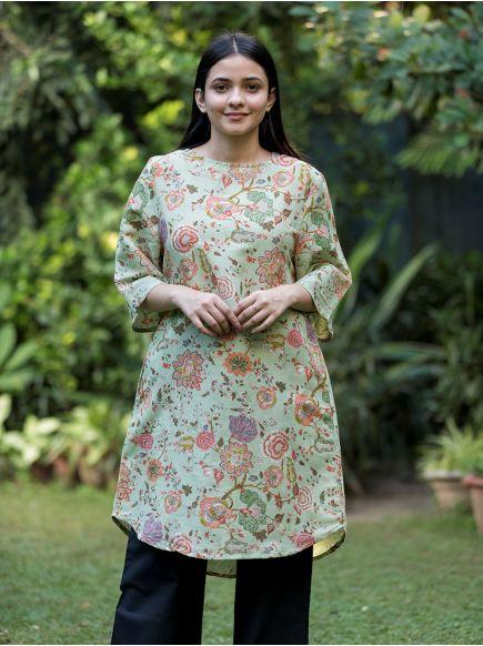 Boat Dress : Malabar Sage
