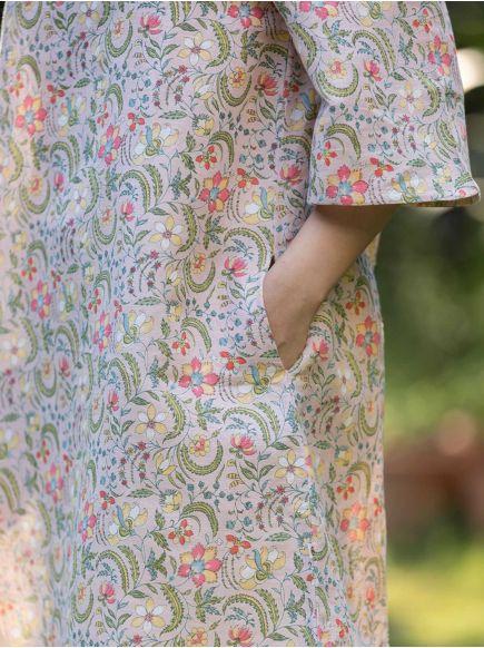 Boat Dress : Pulicat Pink