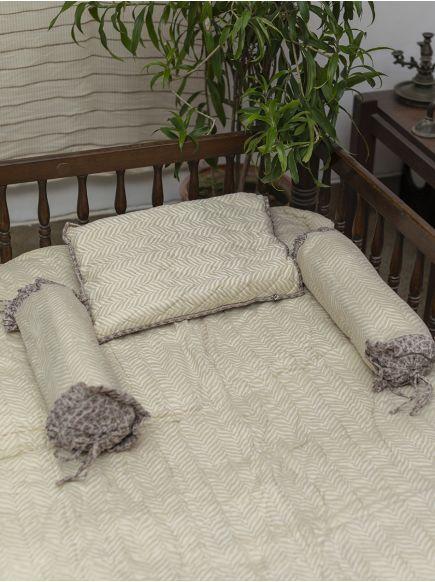 Baby Bed Set : Gumbaj Beige