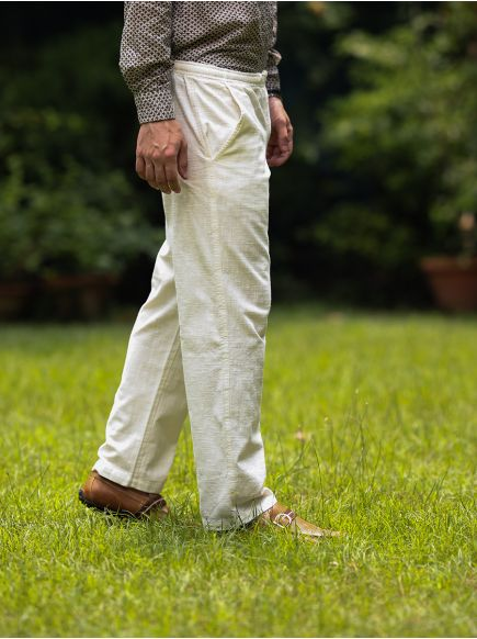 Men's House Pant : Natural
