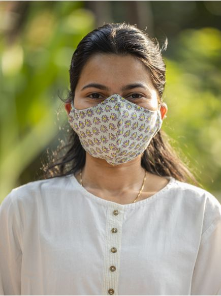Adult Circle Mask with Pouch : Zanskar Mint