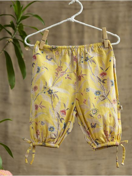 Harem Pants Kids : Wildflower Gold