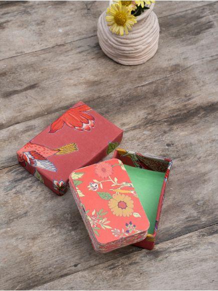Playing Card Set : Bird Coral