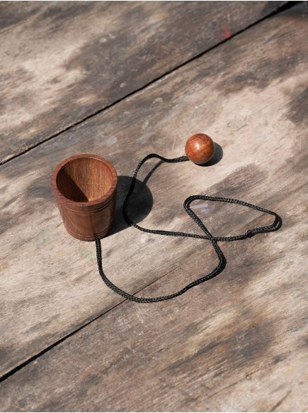 Backet Ball Game : Wooden