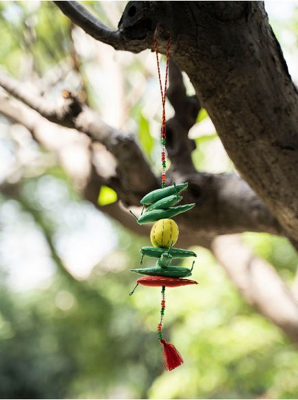 Hanging Chilli Lemon : Green