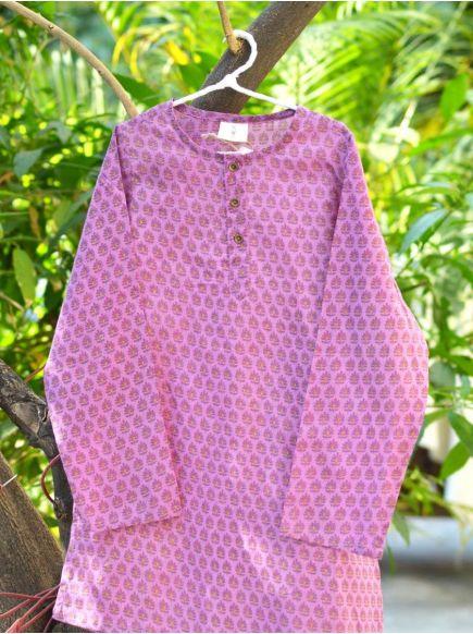 Classic Kurta : Zanskar Purple
