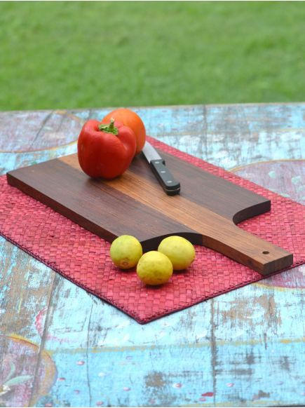 Chopping Board with Handle : Wooden