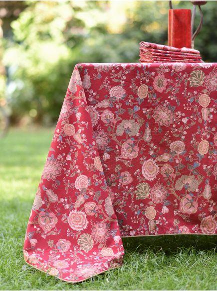 Table Cloth : Malabar Red