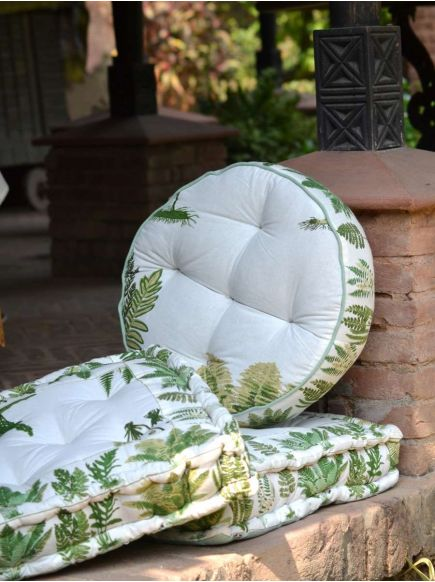 Floor Cushion : Fern Green