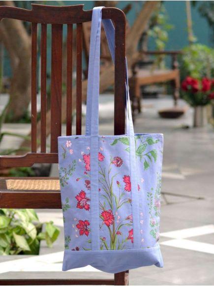 Sara Bag : Garden Azure