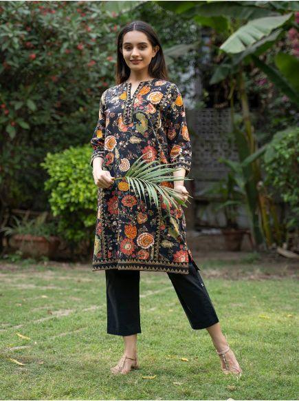 Khajana Dress : Malabar Black