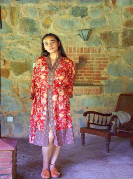 Kimono : Malabar Red