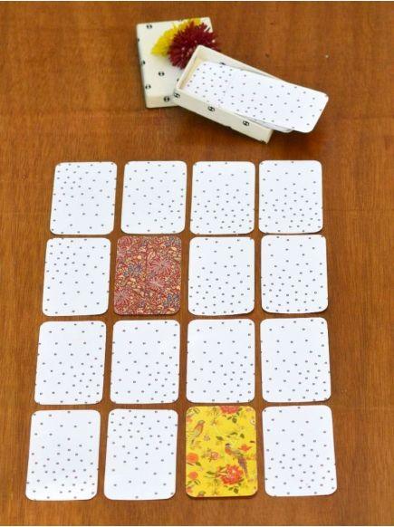 Memory Card Set : Black-White