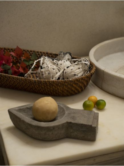 Round Soap : Neem Tulsi