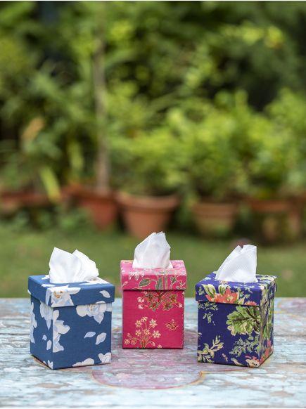 Tissue Box Tall : Assorted